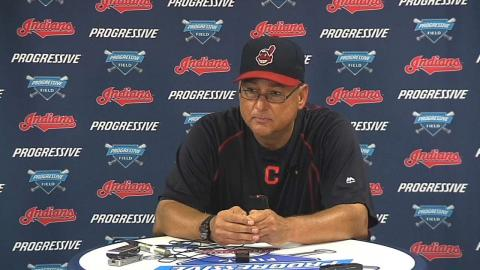 LAA@CLE: Francona discusses comeback win over Angels