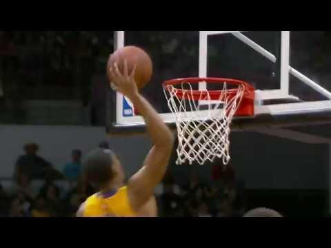 Jordan Clarkson Rises Up for the Put Back Slam