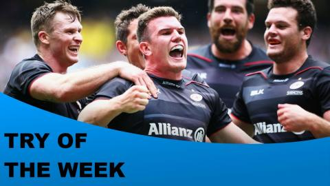 Citizen Try of the Week - Round 1 - Scott, Spencer, Gopperth, Chudley & Robson