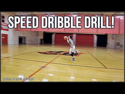 How To: Improve Your Basketball Dribbling Skills - Speed Dribble Drill!