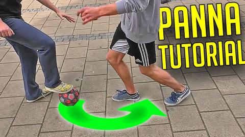 How To Destroy Your Opponent with Easy Panna & Nutmeg Skill - Beginner Tutorial