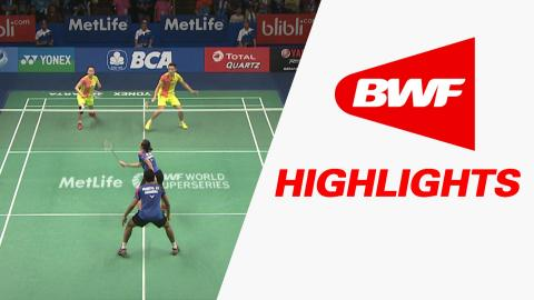 BCA Indonesia Open 2016 | Badminton QF – Highlights