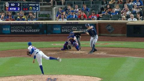 SD@NYM: Ynoa registers his first career strikeout