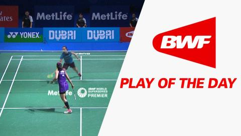 Plays Of The Day | Badminton Day 3 – Dubai World Superseries Finals 2015