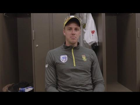 Morne Morkel and the #PinkBall