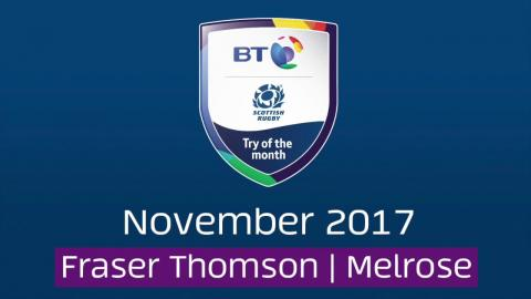 BT Try of the Month - November