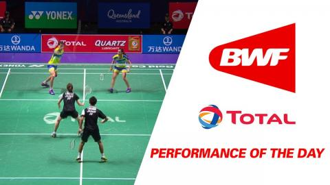 Performance Of The Day | Badminton Day 4 Grp 1C – Japan vs Malaysia - TOTAL BWF Sudirman Cup 2017