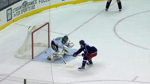 Korpisalo, Panarin lead Blue Jackets to shootout victory against Stars