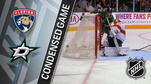 01/23/18 Condensed Game: Panthers @ Stars