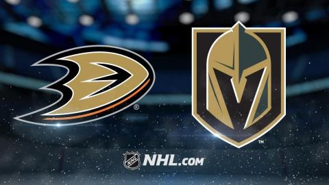 Tuch, Haula lead Vegas to 4-3 SO win against Ducks