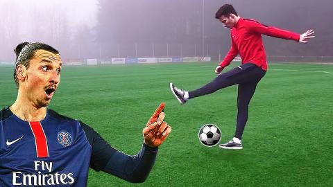 Zlatan Ibrahimovic Flick Up Tutorial - Learn Football Skills