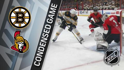 12/30/17 Condensed Game: Bruins at Senators
