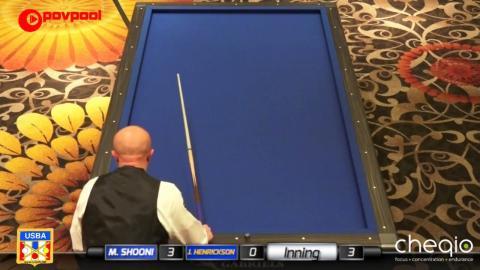 7 • Mazin SHOONI vs Jim HENRICKSON • 2017 USBA / Gabriel's 3C Open