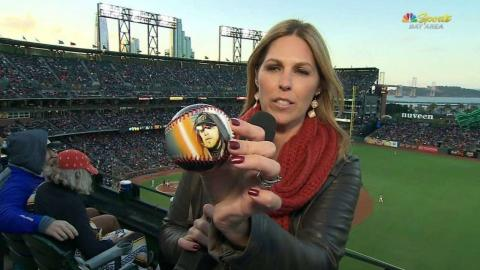 ATL@SF: Fans enjoy Stars Wars night at AT&T Park