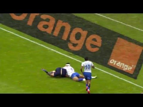 RE:LIVE! Tapili with MASSIVE TRY-SAVING tackle for Samoa in Paris