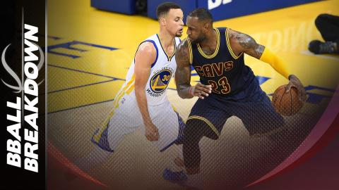 The Key For The Cavaliers: Get Steph Curry On LeBron James