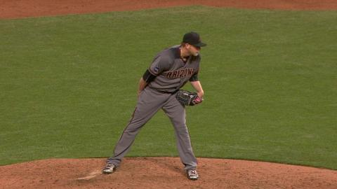 ARI@SF: Wagner allows just one hit in D-backs debut
