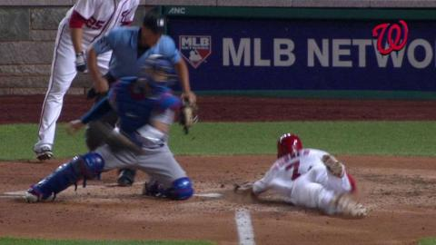 LAD@WSH: Turner steals home with Espinosa in rundown