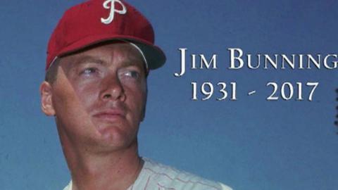 OAK@NYY: Yankees broadcast on passing of Jim Bunning