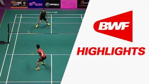 Macau Open 2016   Badminton SF – Highlights