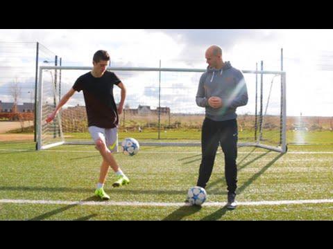 Epic Game of T.R.I.C.K - A Football Trick Shot Battle!