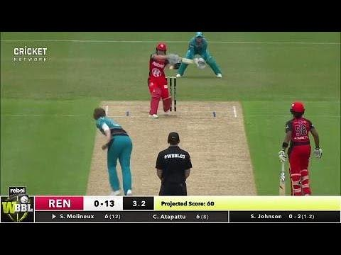 Melbourne Renegades v Brisbane Heat, WBBL|03