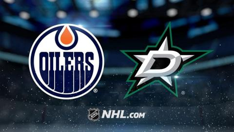 Roussel, Bishop lead Stars past Oilers, 6-3