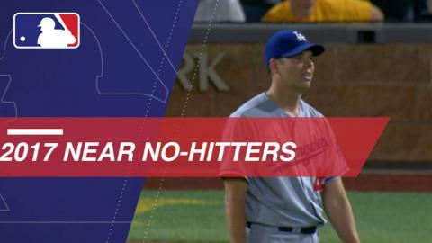 2017 Almost No-hitters