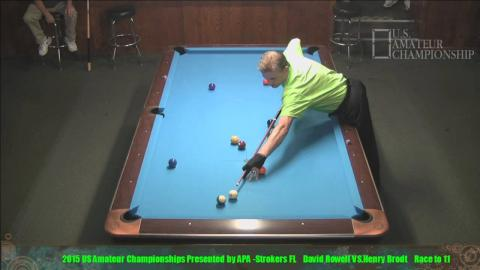 2015 US Amateur Championship Finals Henry Brodt VS  David Rowell
