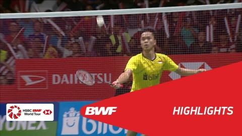 DAIHATSU Indonesia Masters 2018 | Badminton MS - F - Highlights | BWF 2018