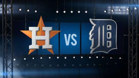 5/24/15: Astros' bats go off in 10-7 win over Tigers
