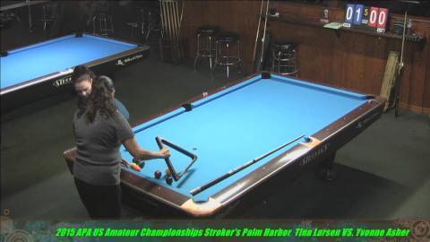 2015 US Amateur Championships Tina Larsen VS Yvonne Asher