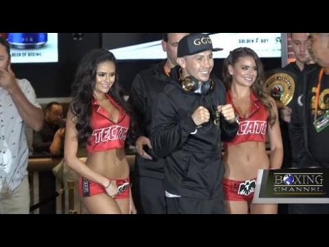 RAY FLORES LIVE AT THE CANELO VS TRIPLE G ARRIVALS