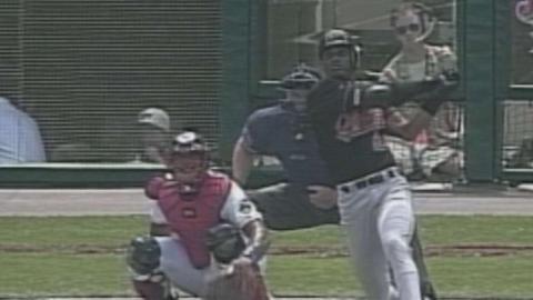 Eric Davis extends hit streak to 30 in 1998