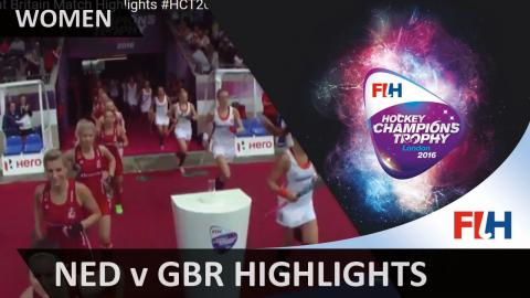 Netherlands v Great Britain   Match Highlights #HCT2016