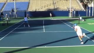 11 01 2014 UCLA Vs BYU Men's Tennis Double's Finals 1080 AVCHD
