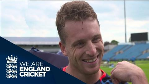 Buttler On Almost Losing His Towel Watching IPL Final