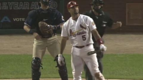 SD@STL: Pujols hits his 47th homer of 2006 season