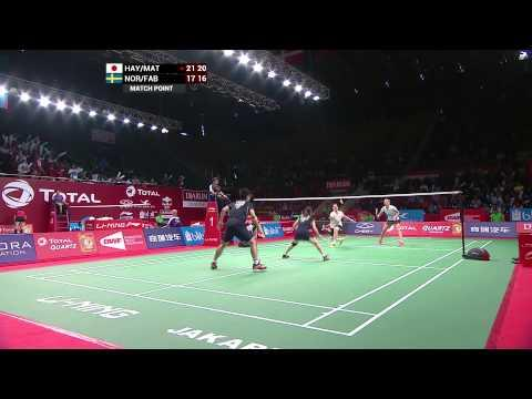 TOTAL BWF WOrld Championships 2015 | Badminton Day 1 R64 - Highlights 1
