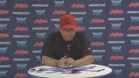TB@CLE: Francona discusses the win, Lindor and Tomlin
