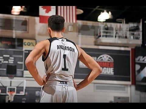 Kyle Anderson Leads the Spurs to Victory at Summer League!