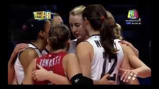 USA Vs RUS FIVB Volleyball Women's World Championship 2014