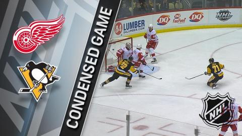01/13/18 Condensed Game: Red Wings at Penguins