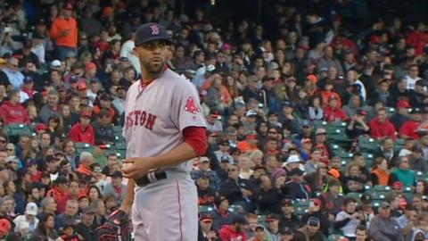 BOS@SF: Price fans seven over eight innings
