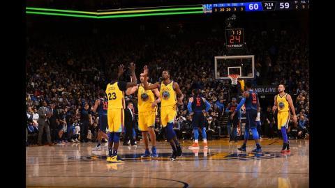 Best of The Warriors Ball Movement vs. The Thunder   February 24, 2018