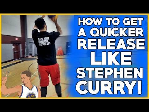 3 EASY Drills To SHOOT LIKE STEPHEN CURRY With A Quick Release! Shoot A Basketball Better!