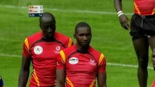 Uganda Vs Malaysia  Rugby (2014 Commonwealth Games Match 26 )