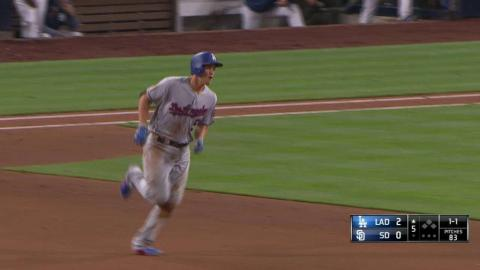 LAD@SD: Seager belts his 13th home run of the season