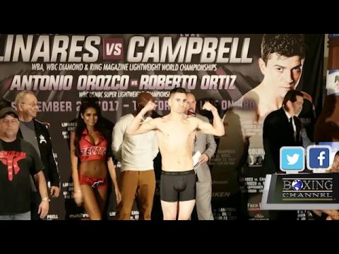 LINARES VS CAMPBELL WEIGH-INS HIGHLIGHTS