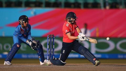 England women's Coach Mark Robinson on Heather Knight